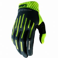 New 100% Ridefit Glove Flo Yellow/Charcoal S M L XL Motocross